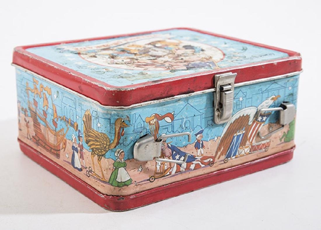 America on Parade Vintage Lunchbox - 3