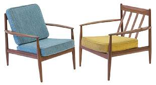 Grete Jalk Lounge Chairs