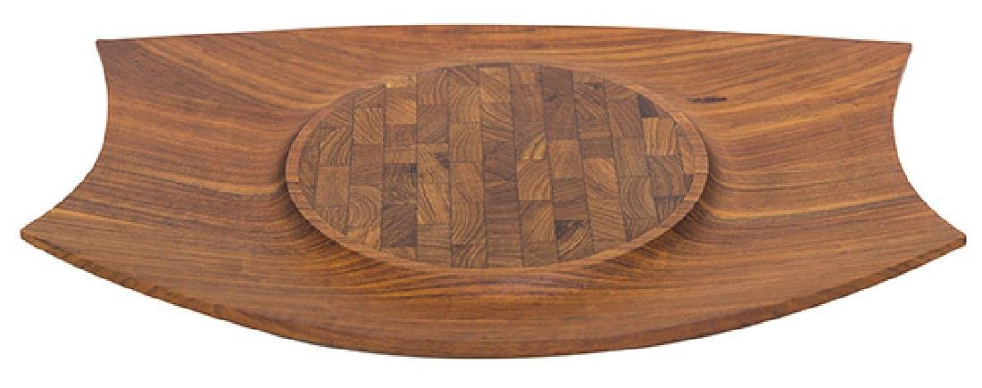Jens Quistgaard Rare Mutenye Wooden Tray
