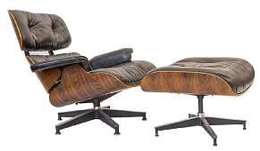 Charles & Ray Eames 670 Armchair and 671 Ottoman