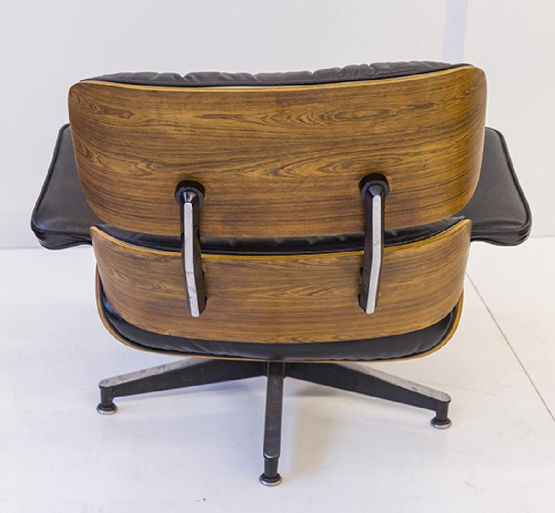Charles & Ray Eames 670 Armchair and 671 Ottoman - 5