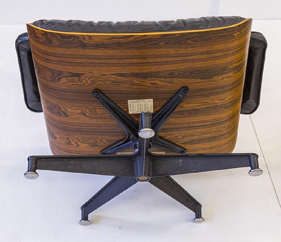 Charles & Ray Eames 670 Armchair and 671 Ottoman - 8