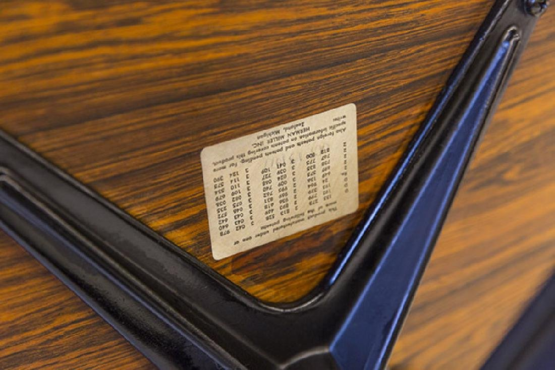 Charles & Ray Eames 670 Armchair and 671 Ottoman - 9