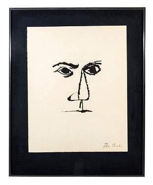 Ben Shahn (1898-1969) Lithograph (New York)