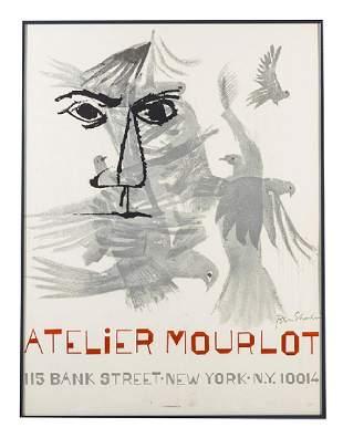 Ben Shahn (1898-1969) Atlier Mourlot Poster