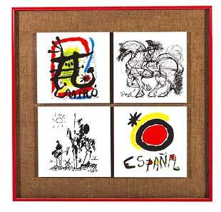 Joan Miro (1893-1983) Tiles (Spain/France)