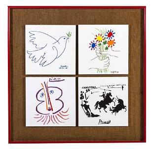 Pablo Picasso (1881-1973) Tiles (Spain/France)