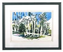 Robert James Foose (20th Century) Watercolor (Kentucky)