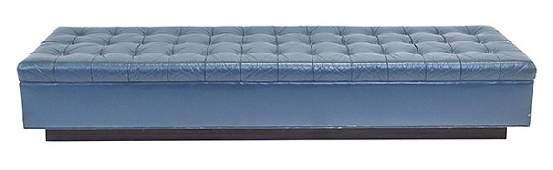 Edward Wormley Custom Tufted Bench