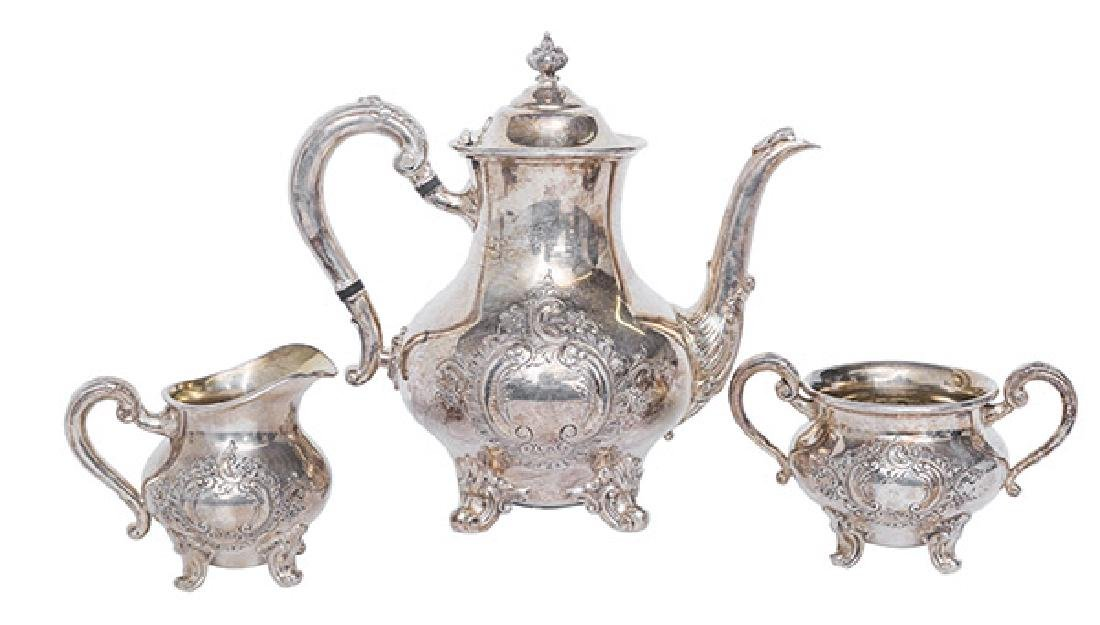 Regent by Reed & Barton Silver Plated Tea Service