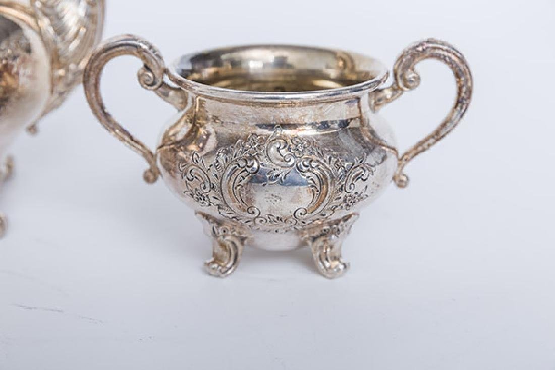 Regent by Reed & Barton Silver Plated Tea Service - 3