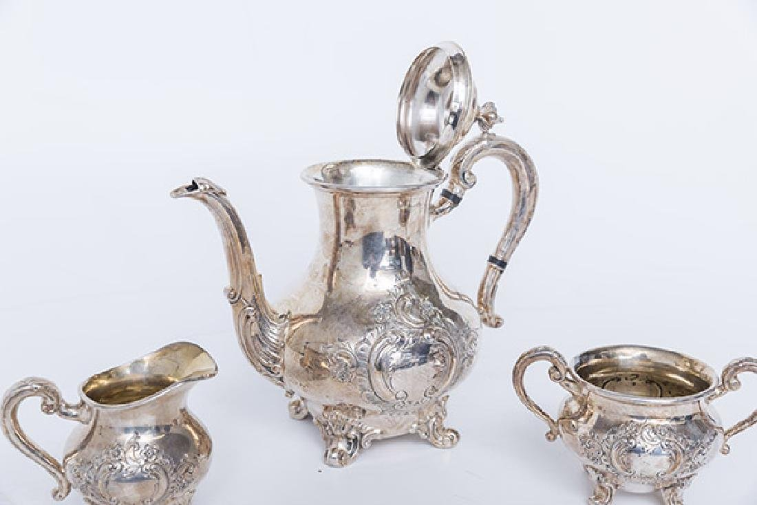 Regent by Reed & Barton Silver Plated Tea Service - 4