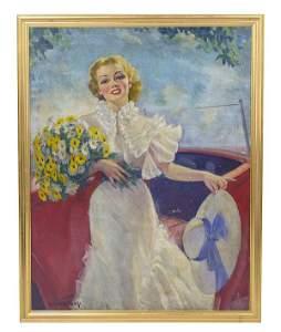 Bradshaw Crandell (1896-1966) Oil (New York)