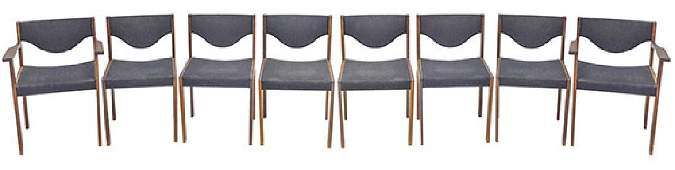 Swedish Rosewood Dining Chairs