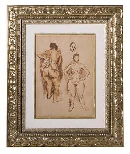 Raphael Soyer 18991987 Marker NY