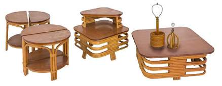Paul Frankl (Attribution) Tables and Lamps
