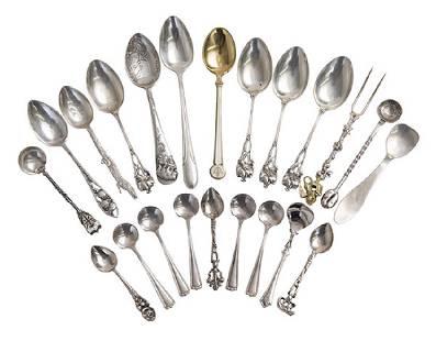 Assembled Sterling Demitasse Spoons