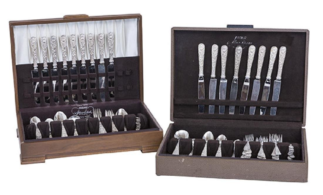 S.  Kirk and Sons Repousse Sterling Silver Flatware