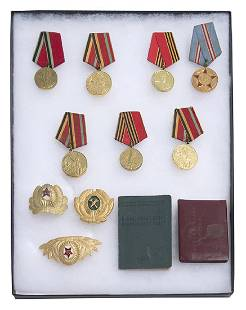 Assembled Russian Medals Plus