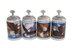 American Bald Eagle Stein Series