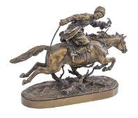 Evgeni Alexandrovich Lanceray (1848-1886) Bronze