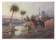 Charles Bonneral 20th Century Oil