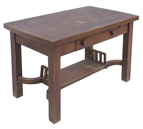 Arts and Crafts Library Table/ Dining Table