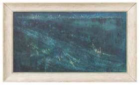 Illegible 1959 Minimalist Abstract