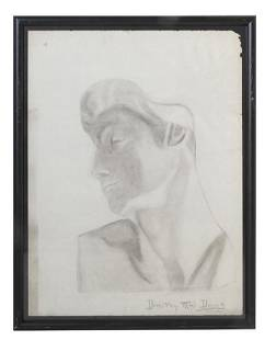 Dorthy Mai Davis 20th Century Charcoal