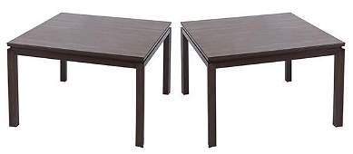 Edward Wormley End Tables, Model #298
