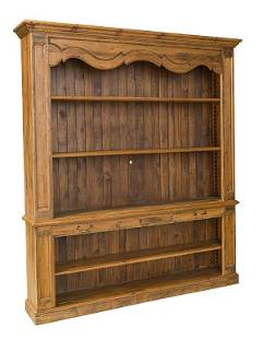 Country French Store Display Cabinet