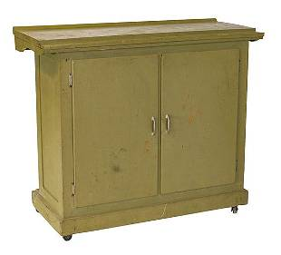 Painted Country Store Cabinet
