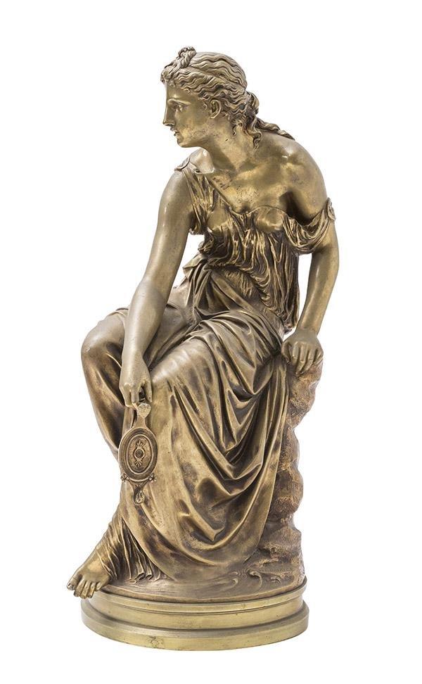 Etienne- Henri Dumaige (1830-1888) Bronze (France)