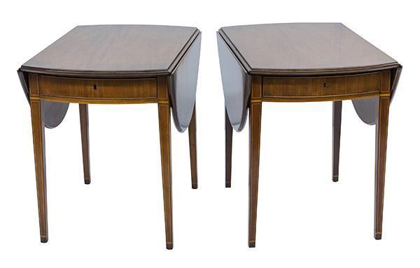 Kittinger Buffalo Drop-Side Tables