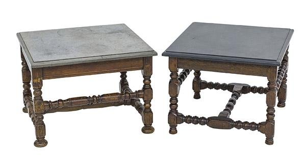 18th Century Marble Top Occasional Tables