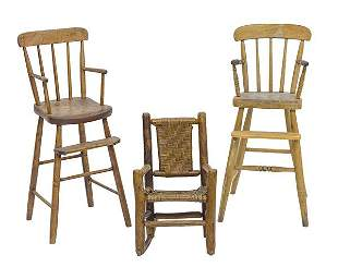 New England States High Chair Plus