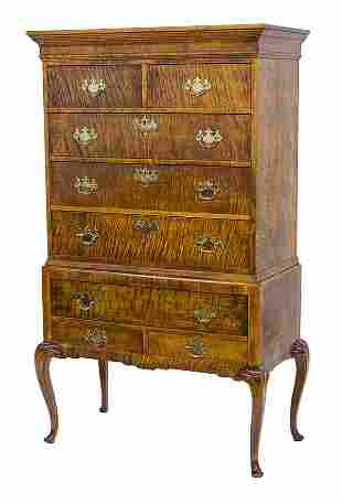 Connecticut Valley 20th Century Chest on Stand