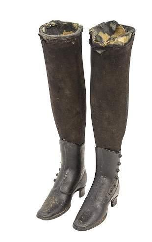 19th Century Antique Mannequin Legs