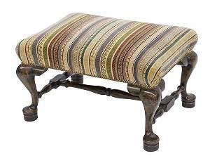 19th Century Queen Anne Bench