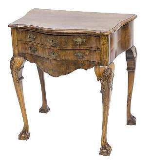 George III Mahogany Dressing Table