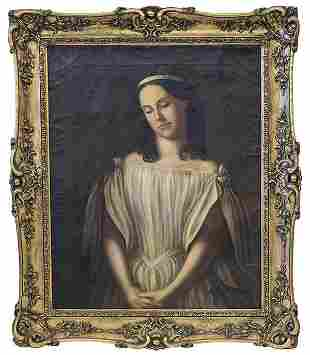 19th Century Portrait of Lady