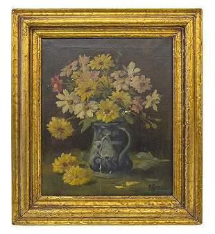 Martin Rettig (1869-1956) Oil (Cincinnati)