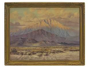 Edward Langley (1870-1949) Oil (California)