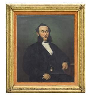 19th Century Portrait of Mr. Bedingfield