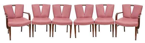 """Paul Frankl """"Corset"""" Dining Chairs"""