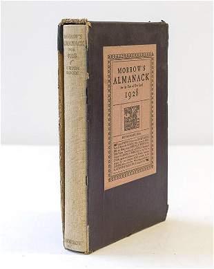 Morrows Almanack 1928