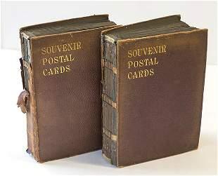 Two Souvenir Postal Cards Around the World