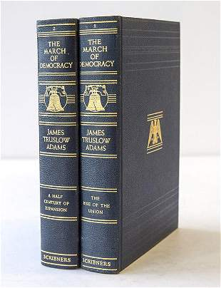 Two Volumes March Of Democracy