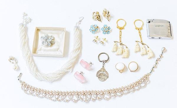 Assembled Vintage Costume Jewelry
