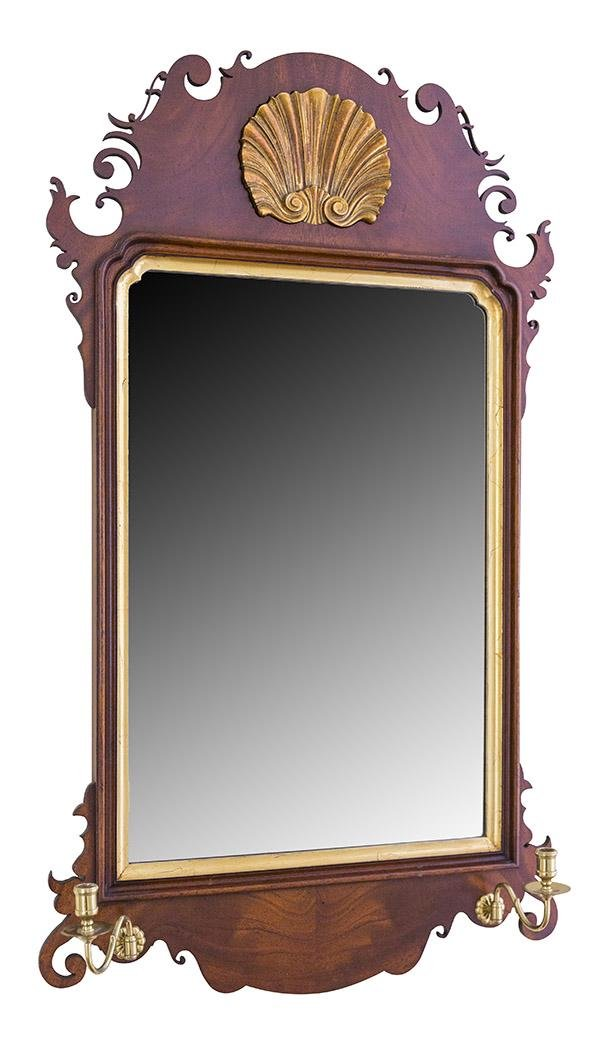 South Hampton Chippendale Style Mirror